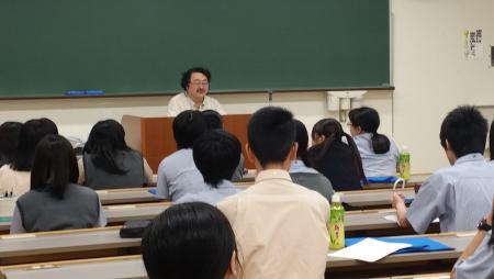 6月22日に吉備高原学園高校・6月23日に岡山理科大学附属高校の生徒が吉備国際大学を訪問