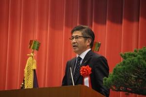 宮崎県副知事 郡司 行敏 様によるご祝辞