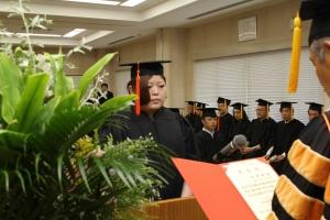 平成30年度 秋季学位記授与式を挙行しました