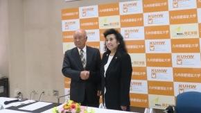宮崎県社会福祉法人経営者協議会との提携調印式