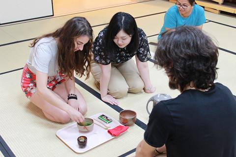 ボローニャ大学(イタリア)研修団が岡山キャンパスを訪問