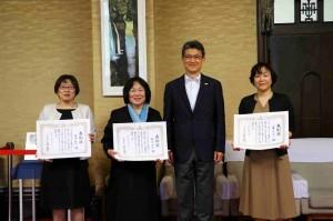 後迫和子校長が「看護の日」記念宮崎県知事表彰を受賞されました